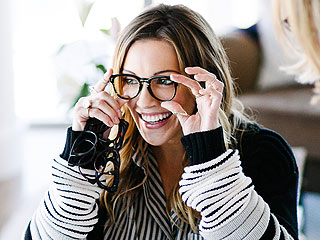 Behind the Scenes of Katie Cassidy's Photoshoot for Her New Glasses Collection | Katie Cassidy