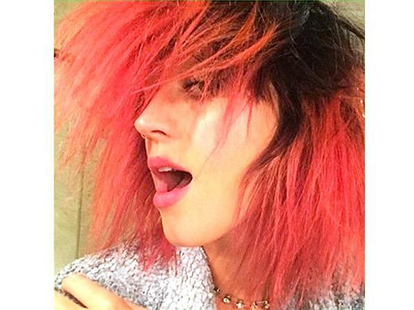 Katy Perry Red Hair