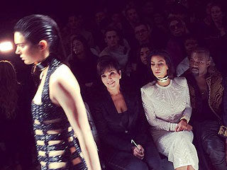 Caption It: This Amazing Pic of the Kardashian-West/Jenners at Paris Fashion Week