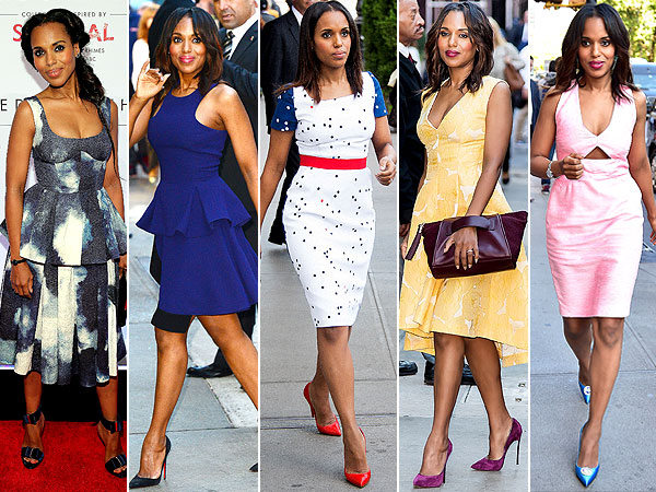 Kerry Washington style Scandal