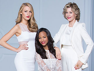 From Blake Lively to Jane Fonda, Four Generations of Stars Stun in Red Lipstick