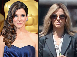 Real or Faux? Sandra Bullock Has Blonde Hair (PHOTO)