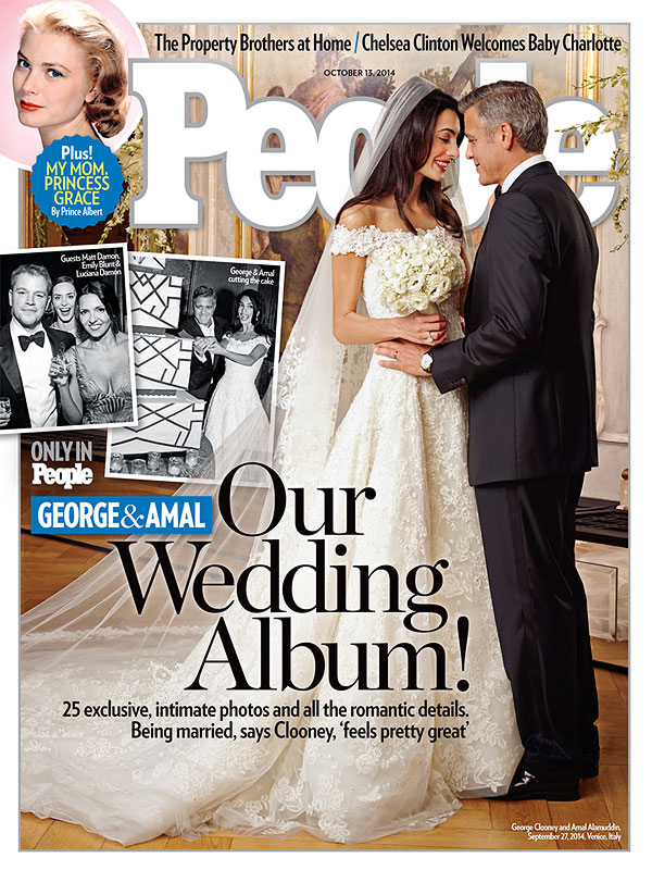Amal Alamuddin wedding gown