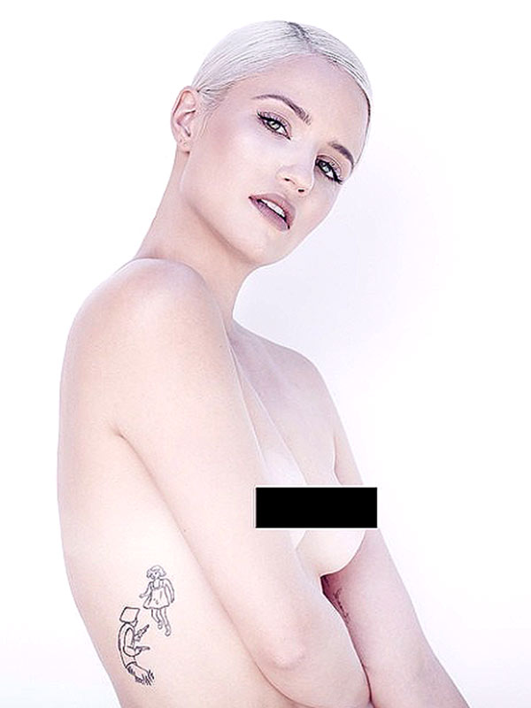 Dianna Agron Topless
