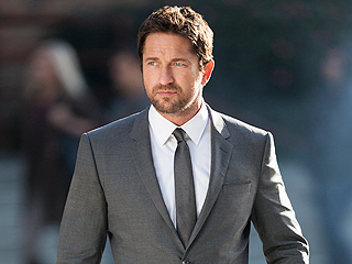 Gerard Butler - 2016 Regular Brown hair & chic hair style. Current ...