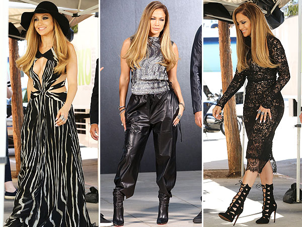 Jennifer Lopez American Idol style