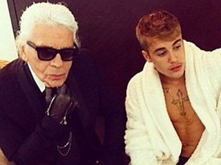 Justin Bieber & Karl Lagerfeld Team Up for Mystery Project – Let's Speculate!