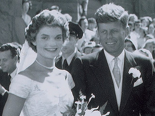 See Rare Photos from Jackie and JFK's Wedding Before They're Auctioned | Jacqueline Kennedy Onassis, John F. Kennedy
