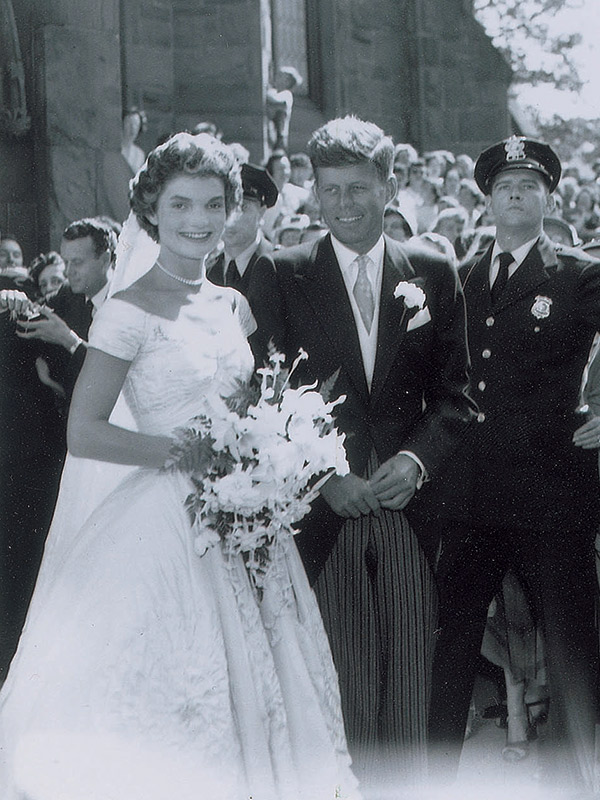 Jackie Kennedy wedding photos