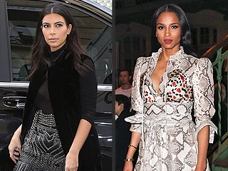 Kim Kardashian vs. Ciara: Whose Bold Style Wins Paris Fashion Week?