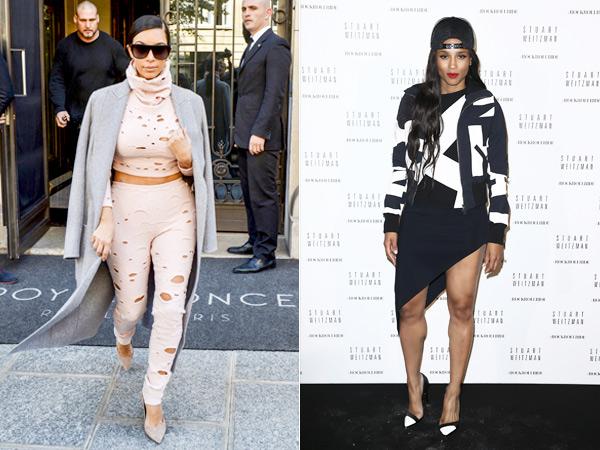 Kim Kardashian/Ciara style