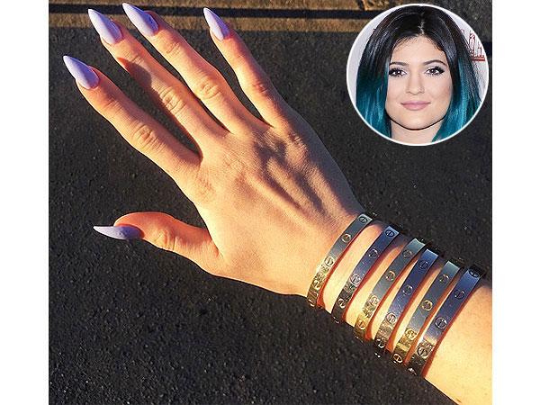 Kylie Jenner Cartier bracelets