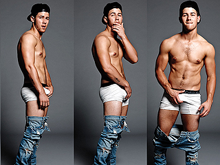 A Crotch-Grabbing Nick Jonas Wants You to 'Have Sex To' His Music (PHOTOS)