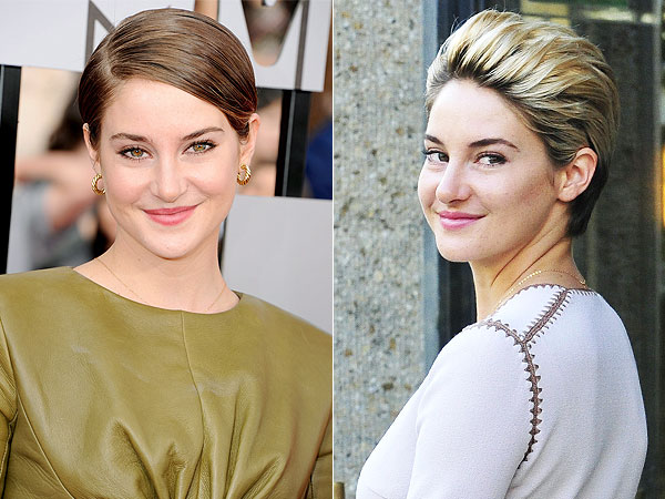 Shailene Woodley goes blonde