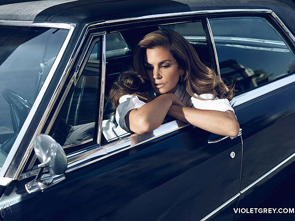Grey cindy crawford style style news stylewatch people com