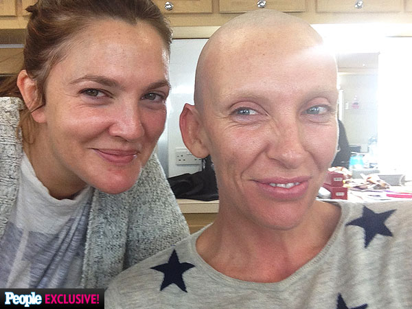 Toni Collette Shaves Head for new role