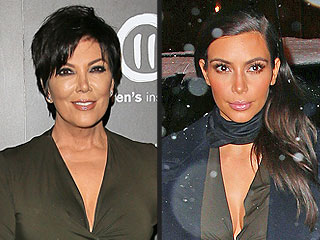 PHOTOS: Kris Jenner Raids Kim's Kloset Again (and You Won't Believe the Dress)