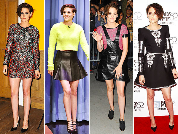 Kristen Stewart style looks