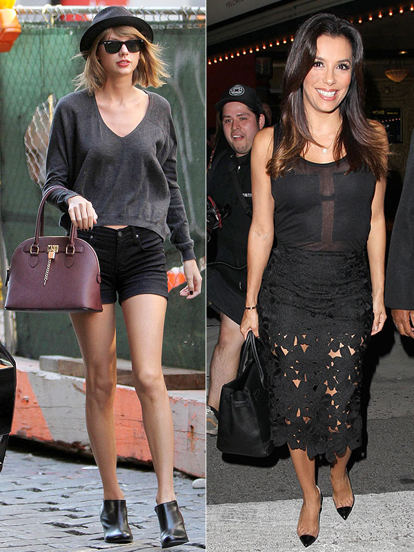 Taylor Swift and Eva Longoria