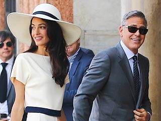 Want Amal Clooney's Wedding Beauty Look? Get the Scoop Straight from Her Glam Squad! | Amal Alamuddin