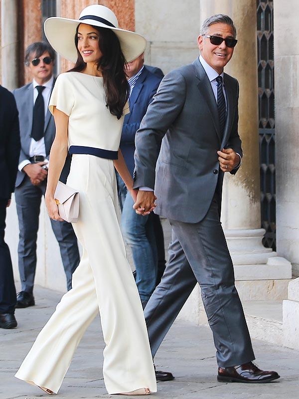 Amal hair wedding