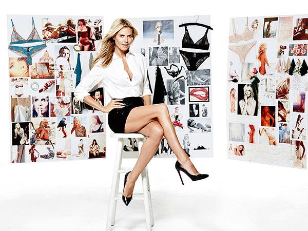 Heidi Klum lingerie