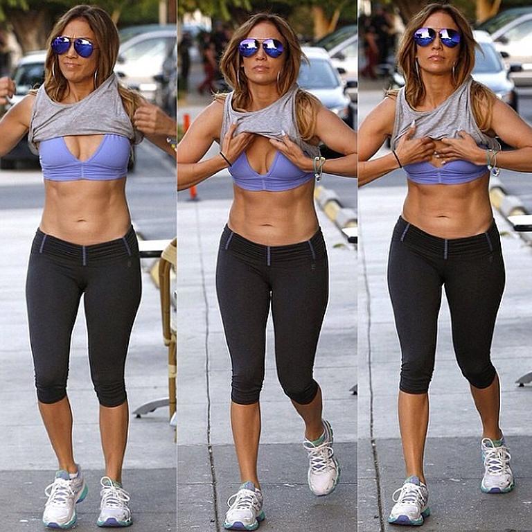 Khloe Kardashian JLo fitness