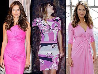 Elizabeth Hurley Has Worn Hundreds of Pink Dresses for BCA – Which Are Her Faves? | Elizabeth Hurley