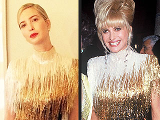 Ivanka Trump Wears Mom Ivana's Vintage 1991 Bob Mackie Dress to a Wedding