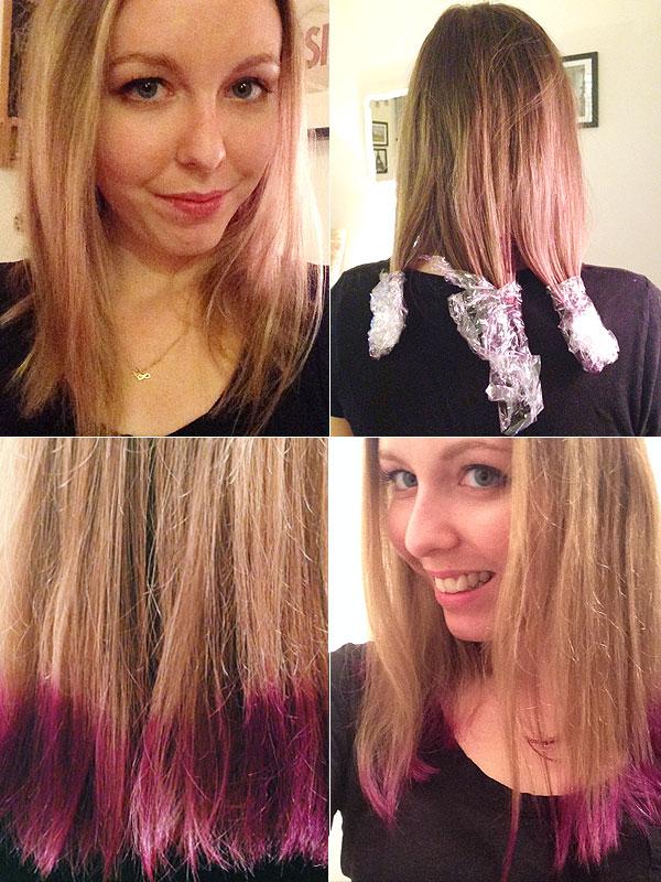 We Tried It: Manic Panic purple hair