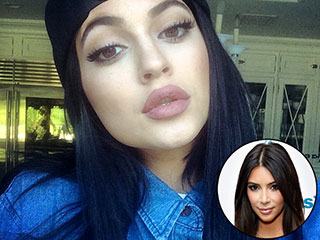 Here's What Kim Kardashian Has to Say About Kylie Jenner's Big Lips | Kim Kardashian, Kylie Jenner