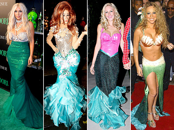 See Lauren Conrads DIY Mermaid Costume   and the Sexiest Halloween Sirens Ever