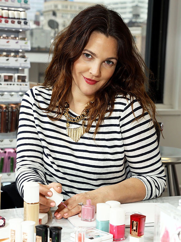 Drew Barrymore's Launch Party for her Cosmetics