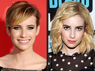 See Which Star Just Went Super-Blonde | Emma Roberts