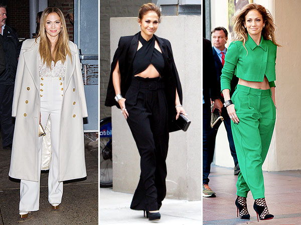 JLo's take on the lady suit