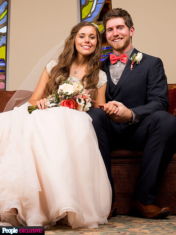 JEssa Duggar weddign photo