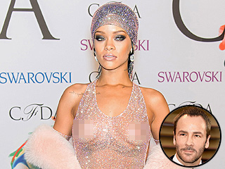 Tom Ford Pens an Ode to Rihanna's Amazing (Almost Nude!) Body | Rihanna