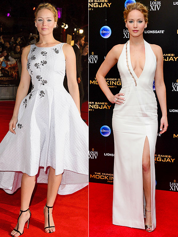 Jennifer Lawrence Mockingjay Part 1 Premiere Looks