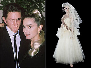 How Much Did Someone Pay for Madonna's Wedding Dress from Sean Penn Marriage? | Madonna