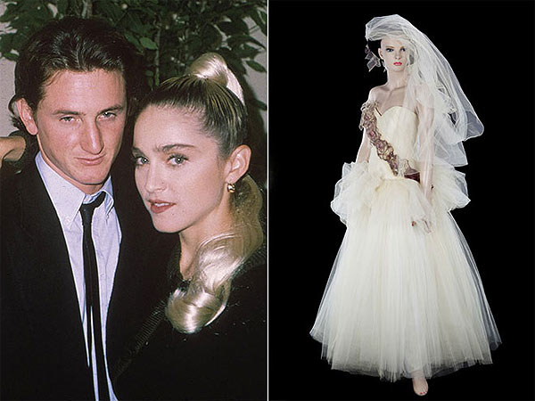 Madonna Auction Items Gallery - Sean Penn and Madonna