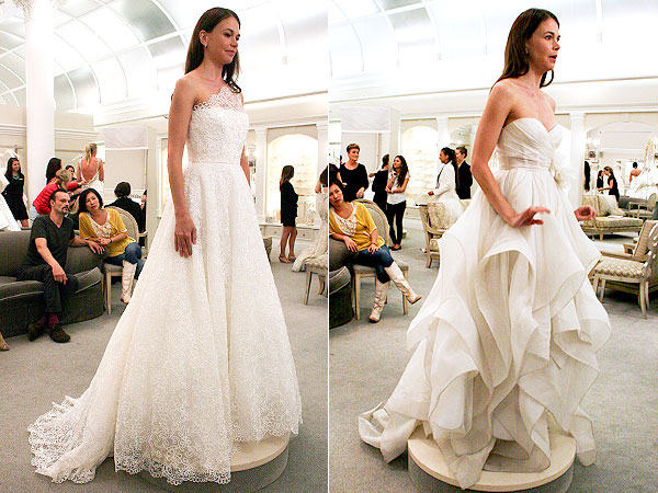 Sutton Foster Wedding Dress Say Yes to the Dress