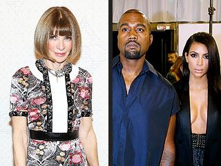 Anna Wintour Suggests Kim Kardashian and Kanye West Are Not 'Deeply Tasteful' | Anna Wintour, Kanye West, Kim Kardashian