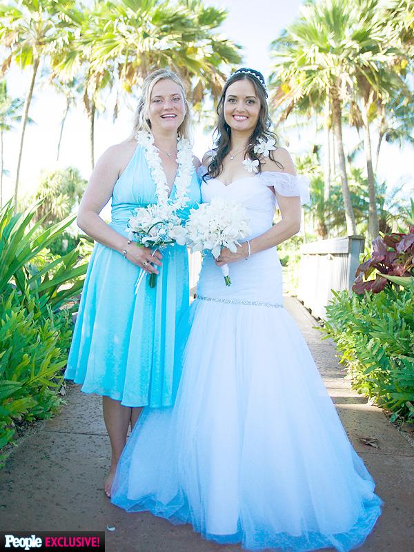 Danica McKellar Wedding Dress