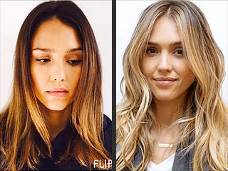 Jessica Alba Tracks Her Brunette-to-Blonde Transformation with a Funny Video