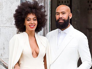 Solange Knowles's Wedding Gown Cannot be Missed (Plus: See Beyoncé's Look!)