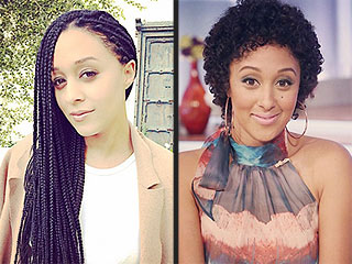 Tia Mowry Gets Braids While Tamera Mowry Rocks Her Natural Curls: PHOTOS