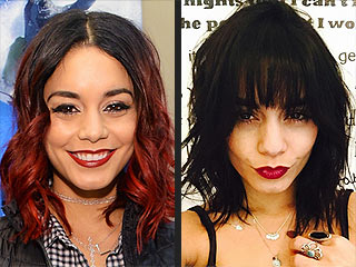 Vanessa Hudgens Pulls a Hair Change Trifecta: Color, Cut & Bangs! (PHOTO) | Vanessa Hudgens