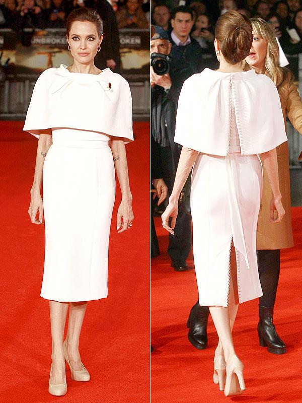 Angelina Jolie Unbroken UK premiere