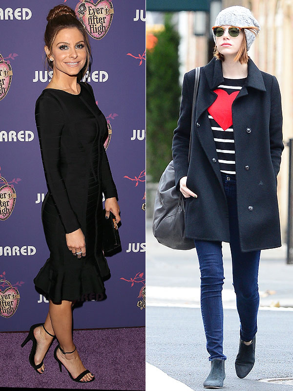 Maria Menounos and Emma Stone bargains