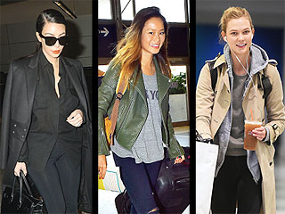 See What Your Favorite Stars (Kim! Gaga! Karlie!) Wore Home for the Holiday
